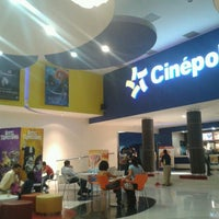 Photo taken at Cinépolis by Paco T. on 7/26/2012