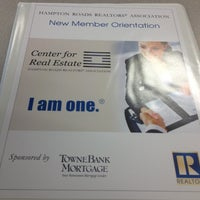 Photo taken at Hampton Roads Realtors Association by Julie G. on 6/12/2012