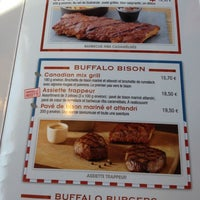 Photo taken at Buffalo Grill by Geneviève E. on 4/3/2012