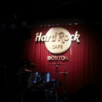 Photo taken at Hard Rock Cafe Boston by Omar A. on 7/17/2012
