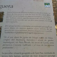 Photo taken at Ermita de Sant Pau by Joao R. on 7/17/2012