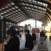 Photo taken at Station Gare Lille-Flandres ⓇⓉ by Rouba E. on 6/13/2012