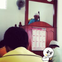 Photo taken at Masjid pekan telipok by Awang Shahrir A. on 7/13/2012