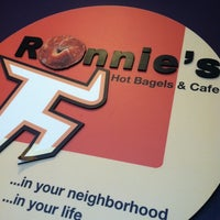 Photo taken at Ronnie's Bagels by Vito B. on 3/28/2012