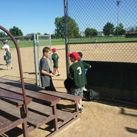 Photo taken at Community Baseball Fields by Jacob Barlow on 6/23/2012