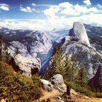 Photo taken at Glacier Point by Markus C. on 9/6/2012