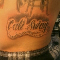 Photo taken at Zebra Tattoo & Body Piercing by Nick D. on 7/15/2012