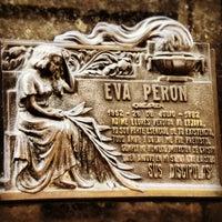 Photo taken at Mausoleo de Eva Perón by ArtJonak on 5/2/2012
