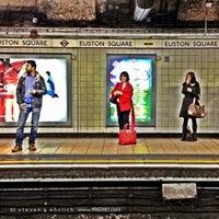 Photo taken at Euston Square London Underground Station by Steven E. on 5/20/2012