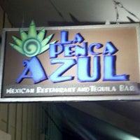 Photo taken at La Penca Azul by Chris S. on 3/17/2012