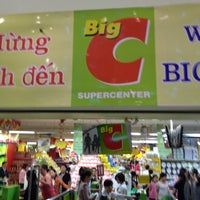 Photo taken at Big C by Lê Đình Trung on 3/20/2012