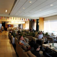 Photo taken at Virgin Atlantic Clubhouse Lounge by Molly on 6/26/2012