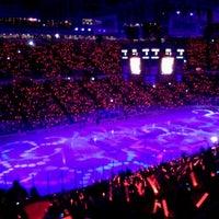 Photo taken at Joe Louis Arena by Greg M. on 4/15/2012