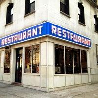 Photo taken at Tom's Restaurant by Moshe Z. on 3/12/2012