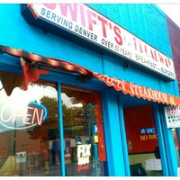 Photo taken at Swift's Steakhouse by Jeremiah Z. on 8/24/2012