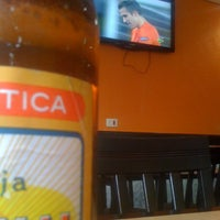 Photo taken at Tago's Restaurante e Lanchonete by Elvis D. on 6/13/2012