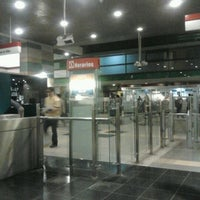 Photo taken at Metro Los Dominicos by polette s. on 4/3/2012