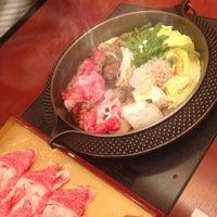 Photo taken at しゃぶ禅 by hajime m. on 2/23/2012
