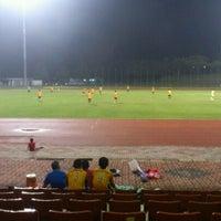 Photo taken at Stadium UKM by Roselawati R. on 4/15/2012