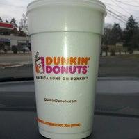 Photo taken at Dunkin' Donuts by Glenn H. on 2/21/2012