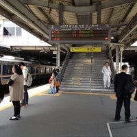 Photo taken at Ibaraki Station by Juliana 蔡. on 4/24/2012