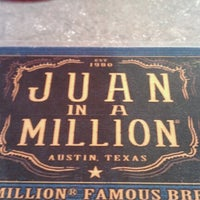 Photo taken at Juan in a Million by Tyrone S. on 8/6/2012
