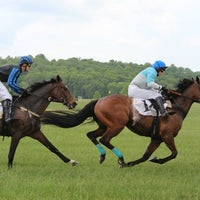 Photo taken at Virginia Gold Cup by Dmitriy G. on 5/6/2012