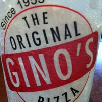 Photo taken at The Original Gino's Pizza #5 by John L. on 4/27/2012