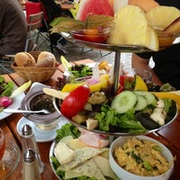 Photo taken at Café Anna Blume by Juliana 蔡. on 9/1/2012