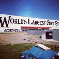 Photo taken at World's Largest Gift Shop by A.J. M. on 5/23/2012