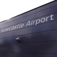 Photo taken at Newcastle Airport (NTL) by Missxstatic on 5/25/2012