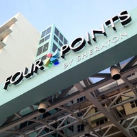 Photo taken at Four Points by Sheraton Miami Beach by Rich B. on 3/31/2012