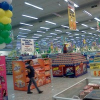 Photo taken at Supermercados Guanabara by Marcelo A. on 6/4/2012