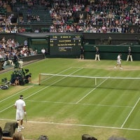 Photo taken at Centre Court by Jason F. on 7/3/2012