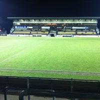 Photo taken at Soevereinstadion | Lommel United by Dennis G. on 2/18/2012