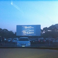 Photo taken at Wellfleet Drive-in and Cinemas by Olivia L. on 7/18/2012