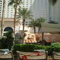 Photo taken at Pools at Monte Carlo Resort & Casino by Chris E. on 4/16/2012
