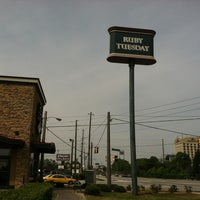 Photo taken at Ruby Tuesday by Stephen G. on 3/29/2012