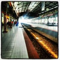 Photo taken at Stasiun Purwokerto by farandi agesti r. on 6/13/2012