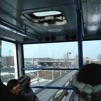 Photo taken at Metro Automatica Osp. S. Raffaele by ilove c. on 2/10/2012
