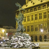 Photo taken at Antwerp City Hall by Kris G. on 3/21/2012