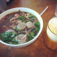 Photo taken at Pho Saigon by Katelyn D. on 3/18/2012