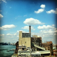 Photo taken at Domino Sugar Factory by Noah F. on 8/12/2012
