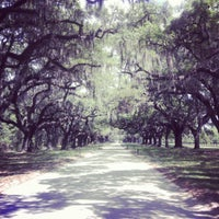 Photo taken at Boone Hall Plantation by Dylan N. on 4/17/2012
