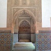 Photo taken at Saadian Tombs by Lauren P. on 6/2/2012