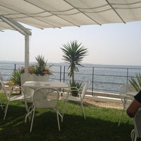 Photo taken at Aquatic Restaurant et Salon de thé by Yacine J. on 6/21/2012