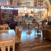 Photo taken at Caribou Coffee by Erwin W. on 3/3/2012