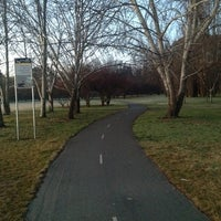 Photo taken at Telopea Park by Mark R. on 8/18/2012
