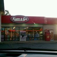 Photo taken at Kum & Go by Teresa B. on 5/17/2012