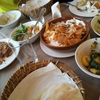 Photo taken at Abdulwahab Lebanese Restaurant مطعم عبد الوهاب by Shahad A. on 6/9/2012